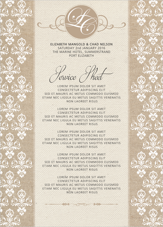 1iDesigns - Wedding Invitations
