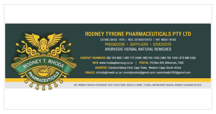Email Signature - Rhoda Pharmacy
