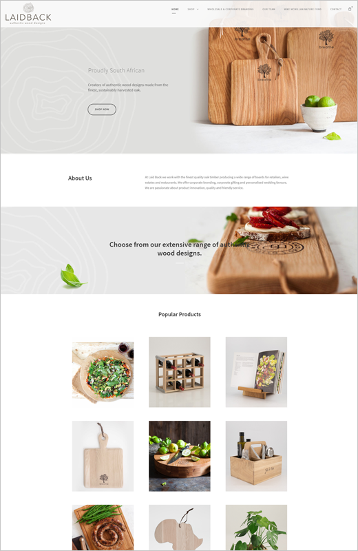 Web Design Ecommerce Shop